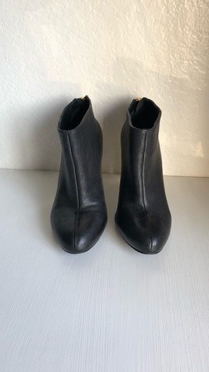 Tory Burch Black and Gold Boots Image 1