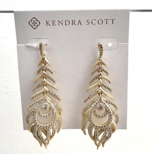 Kendra Scott Elletra Feather-Shape drop Image 2