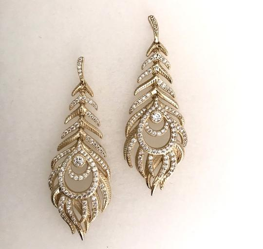 Kendra Scott Elletra Feather-Shape drop Image 4