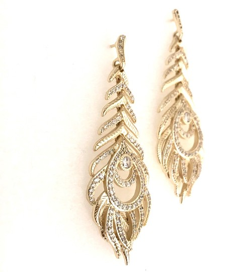 Kendra Scott Elletra Feather-Shape drop Image 5