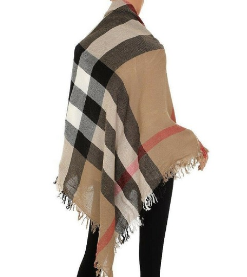 Burberry Burberry Women's Camel Signature House Check Wool Scarf 38414031 Image 8
