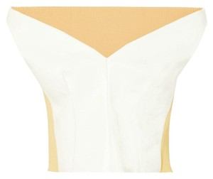 Marni Top White / Pale Yellow