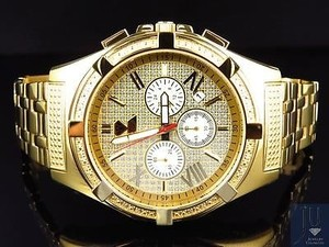 Aqua Master Aqua Master Jojo Joe Rodeo Yellow Gold Mm W349 Genuine Diamond Watch