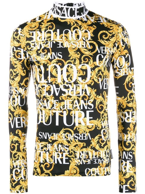 Preload https://img-static.tradesy.com/item/25929735/versace-black-gold-jeans-couture-baroque-print-multicolor-sweater-0-0-650-650.jpg