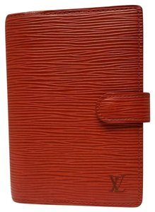 Louis Vuitton Louis Vuitton Agenda PM Day Planner Diary RED Epi Leather, Notepaper