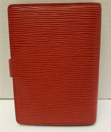 Louis Vuitton Louis Vuitton Agenda PM Day Planner Diary RED Epi Leather, Notepaper Image 1