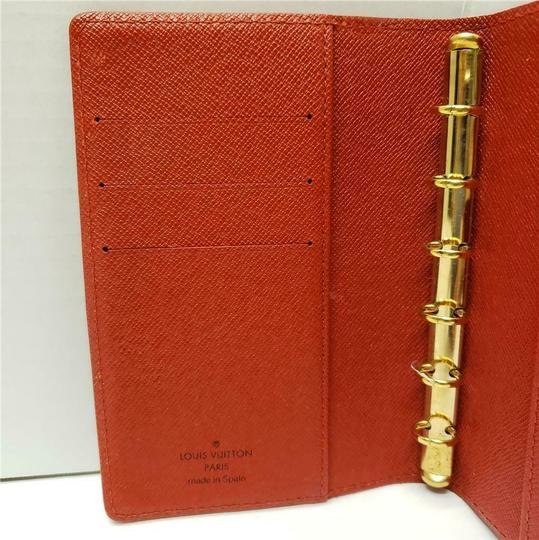 Louis Vuitton Louis Vuitton Agenda PM Day Planner Diary RED Epi Leather, Notepaper Image 8