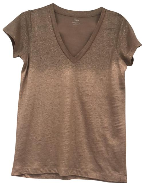 Item - Tan/Gold Tee Shirt Size 0 (XS)