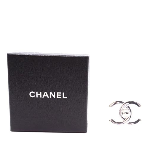 Chanel Ultra Rare CC Timeless Turnlock hardware brooch pin charm Image 1