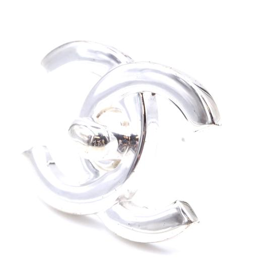 Chanel Ultra Rare CC Timeless Turnlock hardware brooch pin charm Image 6