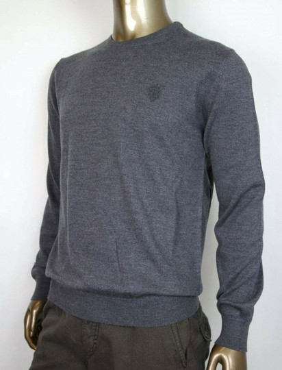Gucci Medium Gray Wool Long Sleeve Crewneck Pullover Sweater 3xl 438137 1200 Groomsman Gift Image 2