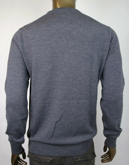 Gucci Medium Gray Wool Long Sleeve Crewneck Pullover Sweater 3xl 438137 1200 Groomsman Gift Image 3