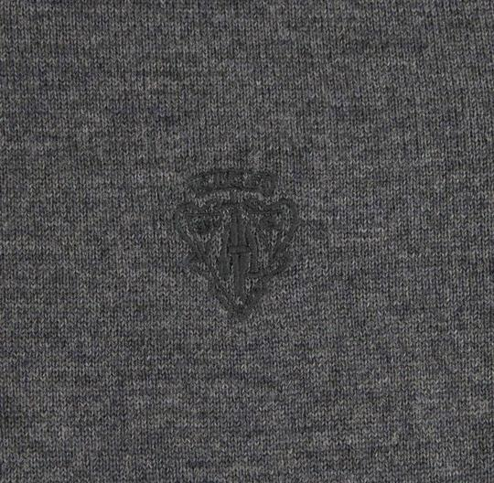 Gucci Medium Gray Wool Long Sleeve Crewneck Pullover Sweater 3xl 438137 1200 Groomsman Gift Image 5