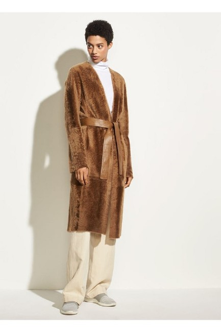 Vince Fur Coat Image 1