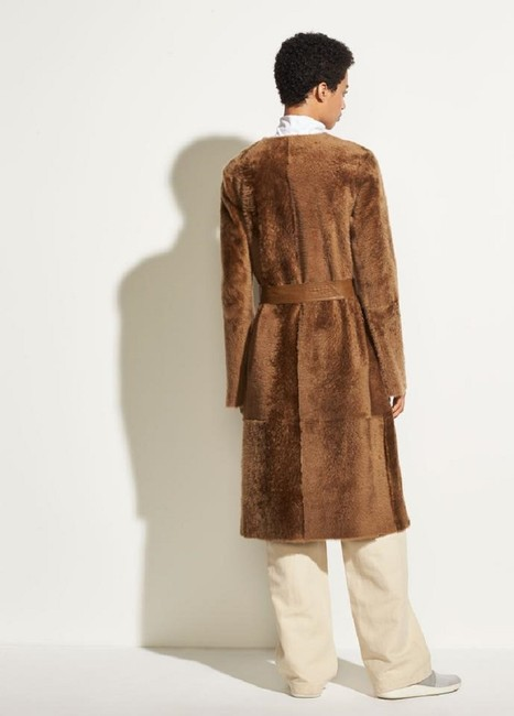 Vince Fur Coat Image 5