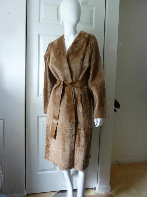 Vince Fur Coat Image 7