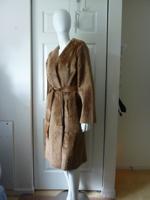 Vince Fur Coat Image 8