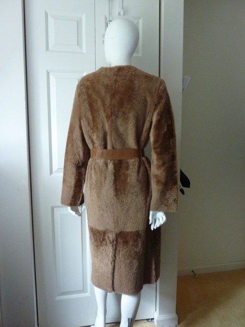 Vince Fur Coat Image 9