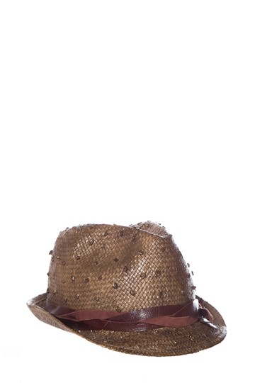 Preload https://img-static.tradesy.com/item/25930261/brunello-cucinelli-brown-woven-straw-and-leather-hat-0-0-540-540.jpg