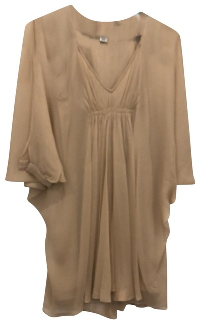 Item - Nude Mid-length Cocktail Dress Size 0 (XS)