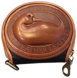 Dooney & Bourke Vintage Dooney And Bourke Big Duck Coin Purse. All Weather Leather