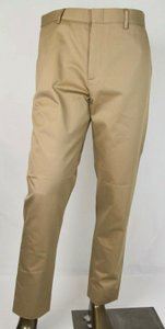 Gucci Light Brown W Cotton Twill Pant W/Web and Bee Eu 50/Us 34 428512 2574 Groomsman Gift