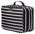 Kate Spade Wilson Road Martie French Stripe Makeup Cosmetic Toiletries Travel Bag Image 0