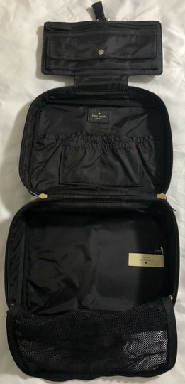 Kate Spade Wilson Road Martie French Stripe Makeup Cosmetic Toiletries Travel Bag Image 11