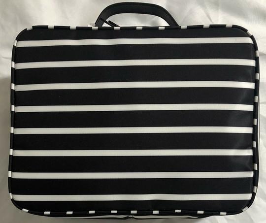 Kate Spade Wilson Road Martie French Stripe Makeup Cosmetic Toiletries Travel Bag Image 3