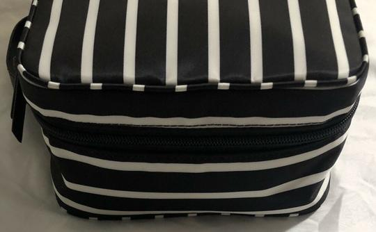 Kate Spade Wilson Road Martie French Stripe Makeup Cosmetic Toiletries Travel Bag Image 4
