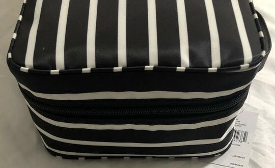 Kate Spade Wilson Road Martie French Stripe Makeup Cosmetic Toiletries Travel Bag Image 5