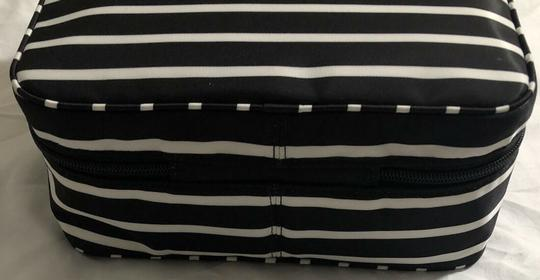 Kate Spade Wilson Road Martie French Stripe Makeup Cosmetic Toiletries Travel Bag Image 6