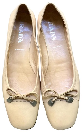 Preload https://img-static.tradesy.com/item/25930687/prada-cream-ballerina-flats-size-us-10-regular-m-b-0-3-540-540.jpg