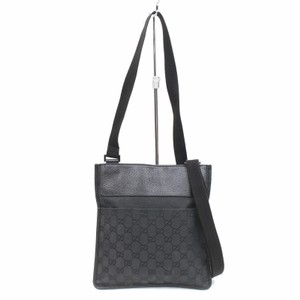 Gucci Monogram black Messenger Bag