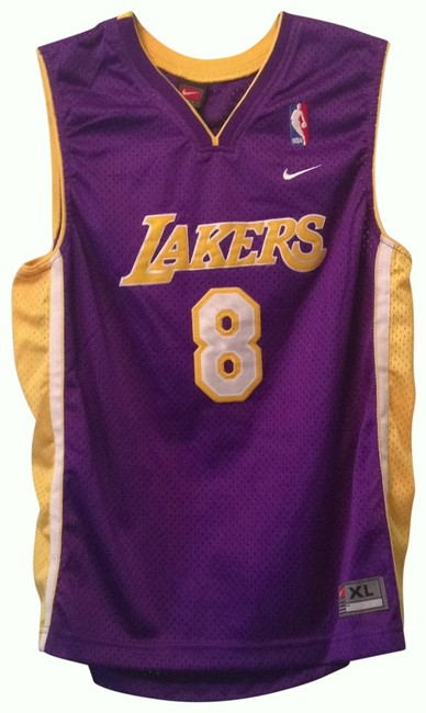 Preload https://item2.tradesy.com/images/nike-purple-and-gold-laker-s-jersey-by-activewear-top-size-8-m-29-30-25931-0-0.jpg?width=400&height=650