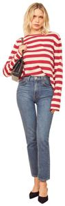 Reformation Cashmere Cozy Striped Sweater