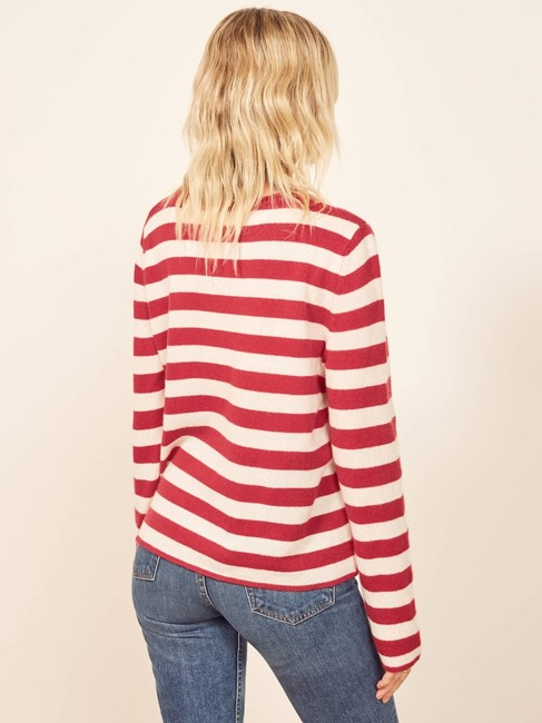 Reformation Cashmere Cozy Striped Sweater Image 2