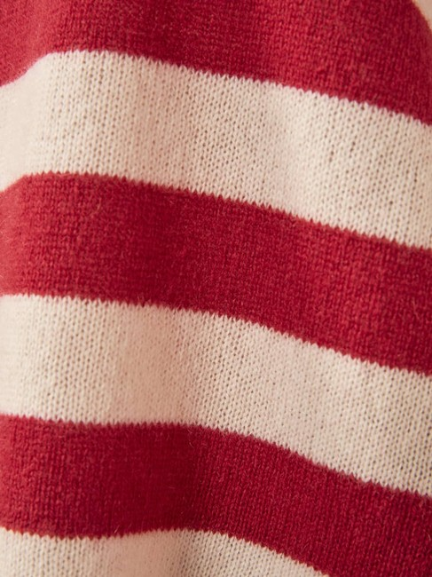 Reformation Cashmere Cozy Striped Sweater Image 6