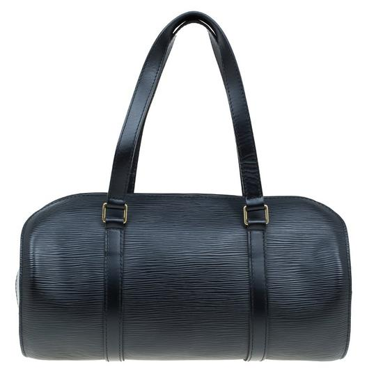 Louis Vuitton Epi Leather Black Clutch Image 1