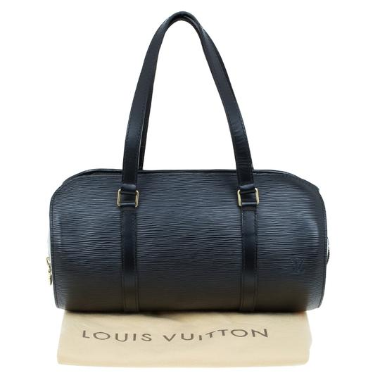 Louis Vuitton Epi Leather Black Clutch Image 11
