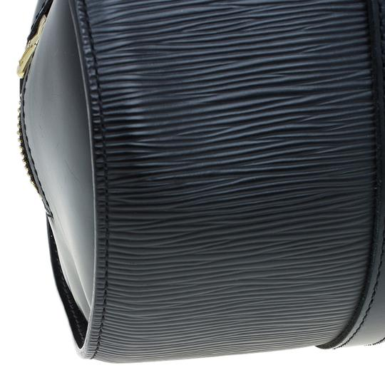 Louis Vuitton Epi Leather Black Clutch Image 9