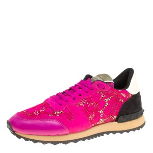 Women's Pink Sneakers On Sale at Tradesy