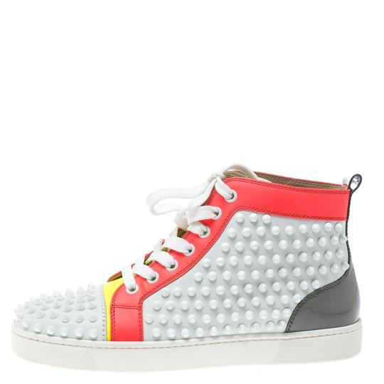 Christian Louboutin Leather Lace Multicolor Athletic Image 1