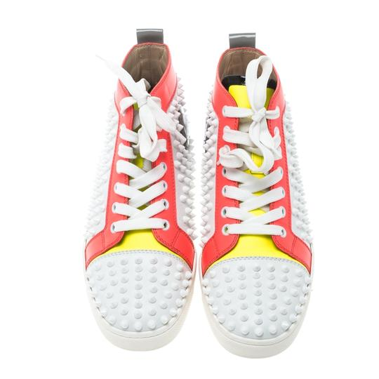 Christian Louboutin Leather Lace Multicolor Athletic Image 2