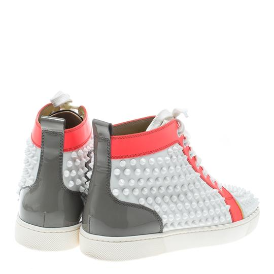 Christian Louboutin Leather Lace Multicolor Athletic Image 4