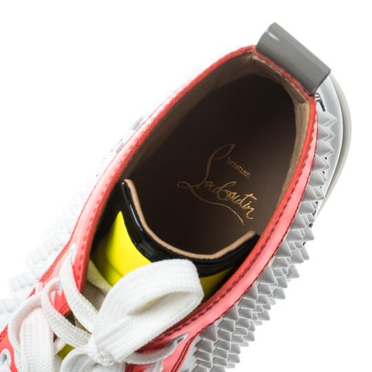 Christian Louboutin Leather Lace Multicolor Athletic Image 5