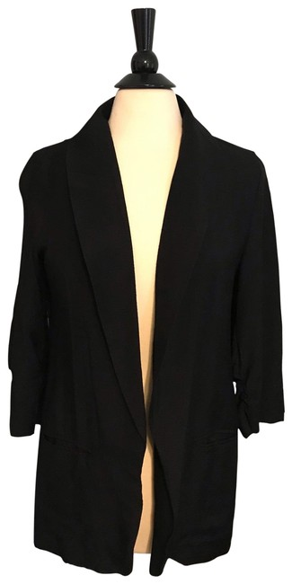 Francesca's Collections Black Blazer Image 0
