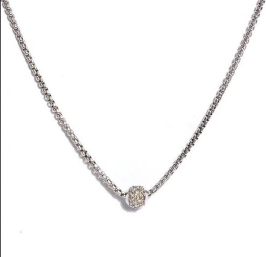David Yurman DY Petit Diamond Pave Ball Image 1