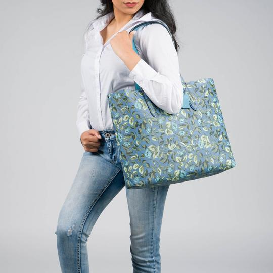 Coach Lexy Tote in slate Image 1