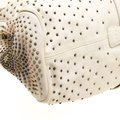 Jimmy Choo Leather Tote in Cream Image 6